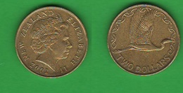 Nuova Zelanda New Zealand 2 Dollars 2002 - Nuova Zelanda