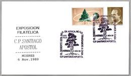 CONTRA LA DESERTIZACION - Against Desertificacion. Mieres, Asturias, 1989 - Protección Del Medio Ambiente Y Del Clima