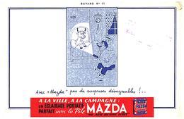 Pi M/ Buvard Pile MAZDA (N= 014) - Piles