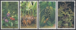 TAILANDIA 2001 Nº 1972/75 USADO - Tailandia