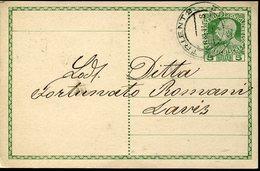 38506 Austria, Circuled Card  1911 From Trento To Lavis - Briefe U. Dokumente
