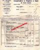 87 - SAINT JUNIEN - FACTURE COOPERATIVE PAPIERS ET SACS - IMPRIMERIE PAPIERS EMBALLAGE- CHEMIN DU GOTH-1939 - Francia
