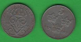 Svezia 5 Ore 1948 Sweden Iron - Svezia