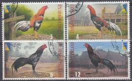 TAILANDIA 2001 Nº 1969A/69D USADO - Tailandia
