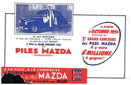 Pi M/ Buvard Pile MAZDA (N= 016) - Piles