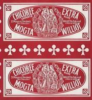 Ancienne Etiquette Chicorée Extra Garantie Pure Mogta Williot Fils Fabricant Poix Du Nord  250g - Frutta E Verdura