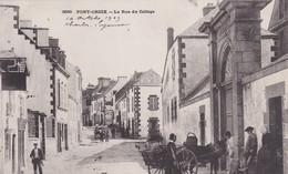 [29] Finistère > Pont-Croix La Rue Du College - Pont-Croix