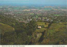 Postcard - Malvern From Above St. Ann's Well Worcestershire - Unused Very Good - Cartes Postales