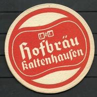 Bierdeckel Deutschland Hofbräu Kaltenhausen - Sous-bocks