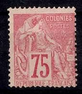 Colonies Générales YT N° 58 Neuf *. Gomme D'origine. B/TB. A Saisir! - Alphée Dubois