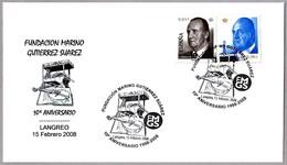 Fundacion Marino Gutierrez Suarez - CASTILLETE DE MINA - HEADFRAME. Langreo, Asturias, 2008 - Minerales