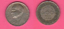 Brasile Brasil 400 Rèis 1940 G. Vargas - Brasile