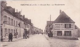 [78] Yvelines > Trappes Grande Rue La Gendarmerie Et Hôtel De L'étoile D'or - Trappes