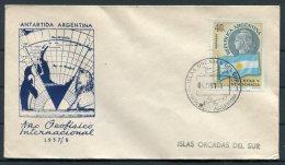 Argentina Antartida Antarctica Polar Penguin Cover. Isla Ocadas Del Sur, IGY - International Geophysical Year