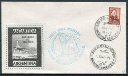 1970 Argentina Antartida Antarctica Base Area Tta. Matienzo. Penguin Polar Cover - Research Stations