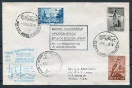 1973 Argentina Antartida Antarctica Polar Cover. Orcadas Reseach Station - Research Stations
