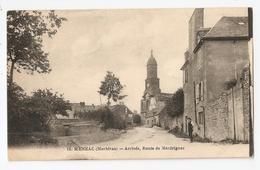 56 Ménéac, Arrivée, Route De Merdrignac (A5p50) - France