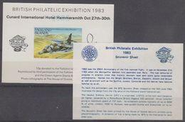 Falkland Islands 1983 British Philatelic Exhibition Souvenir Sheet ** Mnh (40839) - Falklandeilanden