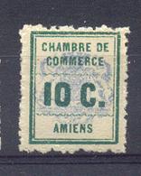 """36) Timbre De Grève N°1**  """"Amiens"""" - Grève"""