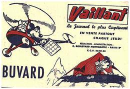 J V/Buvard Jounal Vaillant (Format 18 X 13) (N= 2) - Blotters