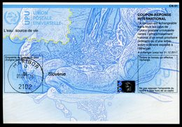 SLOVÉNIE   20141208   Coupon Réponse International / International Reply Coupon - Slovénie