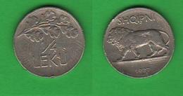 Albania 1/4 Leku 1927 Mint Roma - Albanie