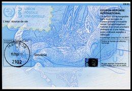 SLOVÉNIE   20151117  Coupon Réponse International / International Reply Coupon - Slovénie