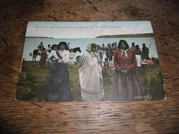 CPA De Lake Tyers - Aboriginals (Arborigènes) Australian Blacks, Near Bairnsdale, Gippsland, Daté 1908 - Aborigènes