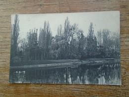 Carte Assez Rare De 1906 , Vue Sur L'île De Puteau , Prise De Neuilly-saint-james - Puteaux