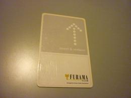 Thailand Bangkok Furama Silom Hotel Room Key Card - Cartes D'hotel