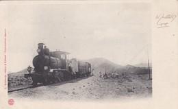 Afrique > Djibouti Train A La Frontière Au M 90 - Dschibuti
