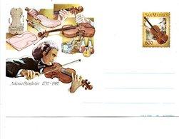SAN MARIN ENTIER NEUF VIOLON ANTONIO STRADIVARI - Muziek