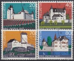 SUIZA 1977 Nº 1026/29 USADO - Suiza