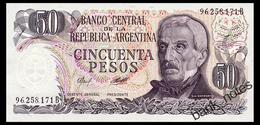 ARGENTINA 50 PESOS ND(1976) Pick 301b Unc - Argentina
