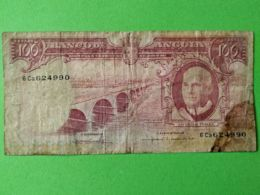 100 Escudos 1962 - Angola