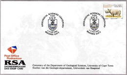 Cent. DEPARTAMENTO CIENCIAS GEOLOGICAS - Cent.Department Geological Sciences.Rhodes Gift, Sudafrica, 1995 - Geología