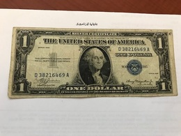 USA United States $ 1.00 Banknote 1935 #3 - National Currency