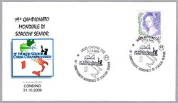 19 CAMPEONATO MUNDIAL SENIOR DE AJEDREZ. World Senior CHESS Champ. Condino, Trento, 2009 - Ajedrez