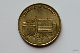JETON MONNAIE DE PARIS CHATEAU D'AMBOISE  2000 MEDAILLE COLLECTION NATIONALE - Monnaie De Paris