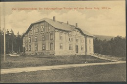 Ansichtskarte   Das Unterkunftshaus Des Sudetengebirgs-Vereins Auf Dem Roten Berg - Ansichtskarten