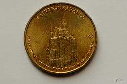 JETON MONNAIE DE PARIS SAINTE CHAPELLE 2000 MEDAILLE COLLECTION NATIONALE 75 CAISSE NATIONALE MONUMENT HISTORIQUE - Monnaie De Paris