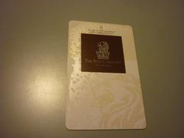 China Guangzhou The Ritz-Carlton Hotel Room Key Card - Cartes D'hotel