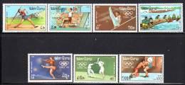 LAOS - N°876/882  **  (1988) J.O De Séoul 88 - Laos