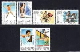LAOS - N°913/8  **  (1989) J.O De Barcelone 92 - Laos