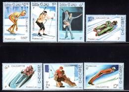 LAOS - N°749/55  **  (1987) J.O De Calgary 88 - Laos