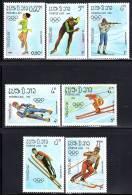 LAOS - N°525/31   **  (1983) J.O De Sarajevo 84 - Laos