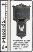 "PTT P: V-36 329L KPD Basel - Historischer ""Basler-Dybli""-Briefkasten. Mint - Svizzera"