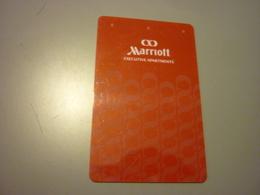 China Shanghai Marriott Executive Apartments Hotel Room Key Card - Cartes D'hotel