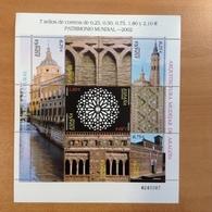 Espagne N° 3504 à 3510 Neufs ANNEE 2002 En Bloc Feuillet - 2001-10 Nuovi