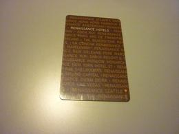 China Wuhan Renaissance Hotel Room Key Card - Cartes D'hotel